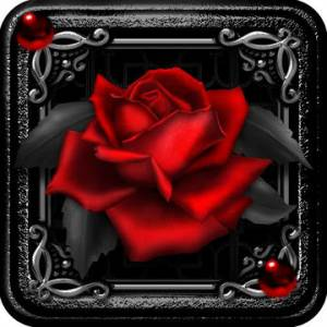 TSF NEXT ADW Smart LAUNCHER GOTH VALENTINE THEME